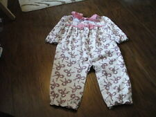 JANIE AND JACK 12-18 '13 2013 FLORAL BOW OUTFIT