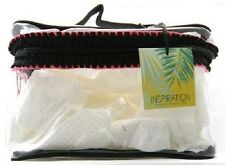 Inspiration Clear Zippered Cosmetic Case