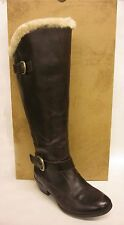 Born Gira Brown Canoe Shearling Lined Knee Boot - SIZE 10