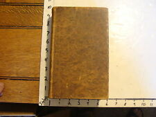 BARBER'S HISTORY & ANTIQUITIES OF NEW ENGLAND, NEW YORK & NEW JERSEY 1841, W/MAP