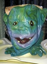 Boglins Halloween Mask!  Ultra RARE!  1987!  Vintage!  With Card!  Vlobb!