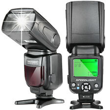Neewer NW-561 LCD Display Speedlite Flash for Canon 1100D 700D 600D Nikon D7200