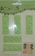 LeCrea' Multi Die Cutter - Small flowers and leaves , craft, card making 0331