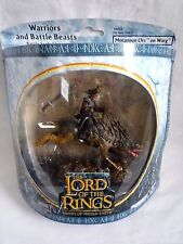 LORD OF THE RINGS / WARRIORS & BATTLE BEASTS / MORANNON ORC ON WARG