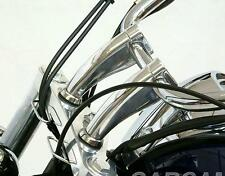 "5.5"" Chrome Handlebar Risers For Honda Shadow VT750 1100 VTX 1300 1800 GOLD WING"