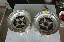 "2pc pieces ONLY JDM SSR Speed Star SuperStar Super 13"" mesh  rims wheels datsun"