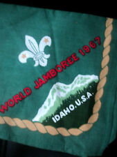 12th Boy Scout World Jamboree 1967 Idaho Neckerchief / Scarf