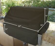 """BBQ Built-in Grill Black Cover up to 30"""""""