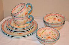Temp-tations 12- piece Old World Service for  Dinnerware Set