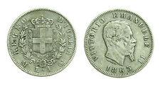 pcc1378_32) Regno Vittorio Emanuele II  lira 1 stemma 1863 Mi