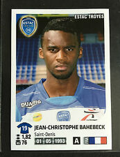 2012-13 Panini Foot France Jean-Christophe Bahebeck rookie sticker PSG