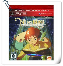 PS3 SONY PLAYSTATION NI NO KUNI WRATH OF THE WHITE WITCH RPG Namco Bandai Games