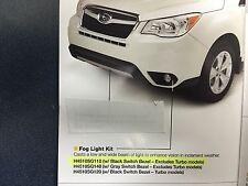 2016 Subaru Forester OEM Factory Fog Light Lamp Kit Black Int H4510SG110 Genuine