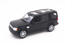1:24 Welly Land Rover Discovery 4 Black Diecast Model Toy Car New in Box