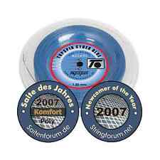TENNIS STRING TOPSPIN CYBER BLUE 220M - 3 GAUGES