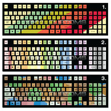 Mechanical Keyboard Cherry MX Keycap / Key cap Vinyl Decals - A2