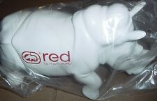 "MARC ECKO STORE DISPLAY WHITE RHINO ""COLLECTIBLE"" APPROX 11"" tall  7"" wide NEW"