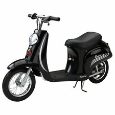 Razor Pocket Mod Vapour Kids Electric Ride On Bike Scooter Moped Black 15mph