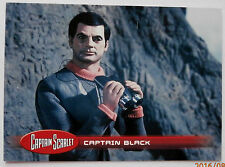 Captain scarlet-individuelle trading card #17, le capitaine black-invincible 2015