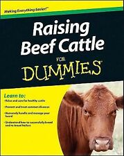 Dummies - Raising Beef Cattle For Dummi (2012) - New - Trade Paper (Paperba