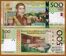 Haiti, 500 Gourdes, 2014, P-277-New Signature and date, Commemorative, UNC