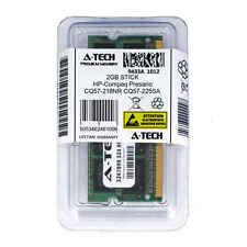 2GB SODIMM HP Compaq Presario CQ57-218NR CQ57-225SA CQ57-229WM Ram Memory