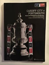 2008 FA Cup Final Programme Cardiff City v Portsmouth