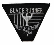 Blade Runner Movie Rep Detect Logo Embroidered Uniform Patch