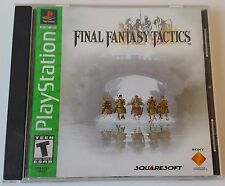 Final Fantasy Tactics ☆ Complete w/ MINT Case + Instructions ☆ PS1 Playstation 1
