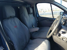 Renault Trafic Business+/Sport 2014 on Tailored Seat Covers with Free Embroidery