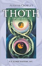 NEW Crowley Thoth Tarot Cards Deck Small Aleister Crowley Lady Frieda Harris