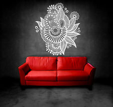 Wall Decal Vinyl Sticker Floral Ornament Indian Geometric Moroccan  r585