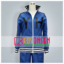 Cosonsen Persona 4 Daisuke Nagase Blue Jersey Cosplay Costume All Sizes Made