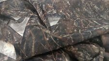 "CONCEAL BROWN MOSQUITO BLIND CAMO BUG MESH FABRIC 60""W SHEER TRUE TIMBER BTY"