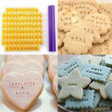 Alphabet Letter Number Embosser Cookie Biscuit Message Stamp Fondant Cake Cutter
