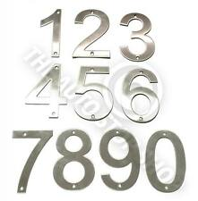 Stainless Steel House Numbers - No 724 - SCREW on House / Door / Building 10cm