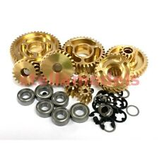 Free Ship Metal Helical Gear for Tamiya 1/14 R/C Tractor Truck Kits (Version 2)