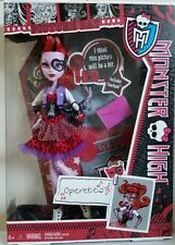 Monster High Picture Day OPERETTA Doll 2012 Y7696 Ages6+ Brand New!!