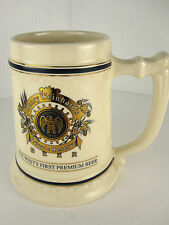 Rare Henry Weinhard's Private Reserve Beer Mug Ltd. 1st Edition Collector Series