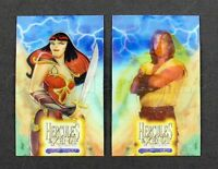 1997 Hercules & Xena The Animated Movie Mount Olympus Holographic Trading Cards