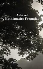 A-Level Mathematics Formulae (Black and White) by David Lewis Fairbairn...