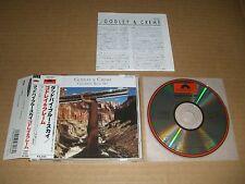 """Godley & Creme and """"Goodbye Blue Sky"""" Japan CD w/OBI 10cc P32P-20151 3200Yen"""
