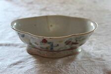 Chinese Porcelain Tongzhi Mark Footed Bowl Qing Dynasty 1870