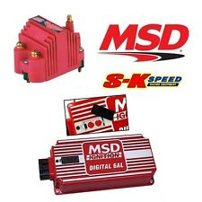 MSD Ignition Kit - 6425 Digital 6AL Box/Blaster SS Coil 8207