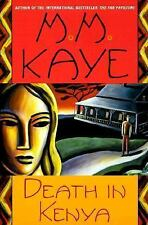 Death in Kenya by M. M. Kaye (1999, Paperback)