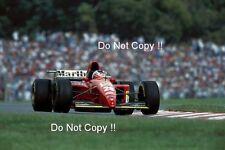 Gerhard Berger Ferrari 412 T2 F1 Season 1995 Photograph