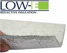 Low-E® Reflective Foil Eco Insulation [10m²] - Fire, Moisture, Sound, Draught