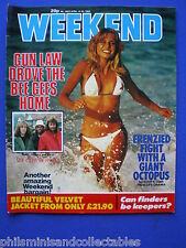 Weekend Magazine - The Bee Gees, Jimmy Savile, Bob Monkhouse   14th Apr 1982