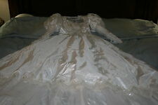 Vintage Wedding Dress with Beads and Sequins
