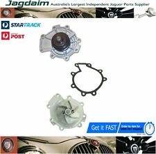 JAGUAR X-TYPE 2.5 3.0 V6 WATER PUMP METAL IMPELLER + PULLEY + GASKET C2S43292